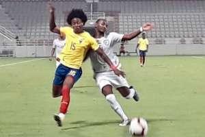 El partido se disputó en el estadio Abdullah Bin Khalifa de Doha, Catar. Foto: Tomada de @FEFecuador