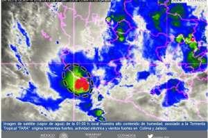 Imagen de satélite Foto: CONAGUA