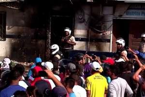 Ajusticiados por multitud enardecida en Posorja tenían antecedentes penales. Foto: Ecuavisa.
