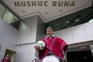 Presidente vitalicio de Mushuc Runa dijo que el supuesto caso de soborno no se resolverá. Foto: Archivo