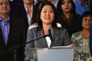 Justicia peruana pospone audiencia de prisión preventiva de Keiko Fujimori. Foto: AP - Referencial