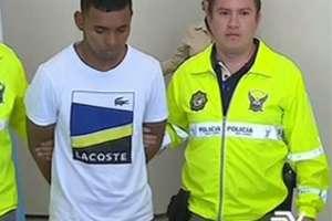 Extraditan desde Colombia a acusados de crímenes en Ecuador. Foto: captura de video