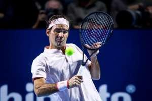 BASILEA, Suiza.- Federer venció al rumano Marius Copil, 93º del mundo en el ranking ATP. Foto: AFP
