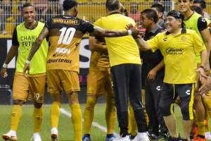 CULIACÁN, México.- El ecuatoriano suma siete goles en este torneo. Foto: @Dorados