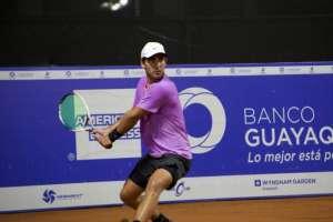 Diego Hidalgo y Emilio Gómez perdieron en la primera ronda del torneo. Foto: Tomada de @challengye05