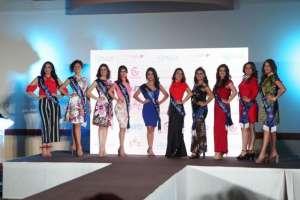 Las aspirantes a Reina de Quito