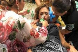 Representante de Venezuela en el Miss Earth se desmayó.