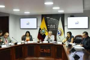 QUITO, Ecuador.- CNE planifica el cronograma de las próximas elecciones. Foto: CNE.
