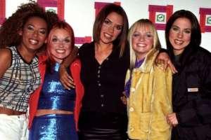 Las Spice Girls en 1996