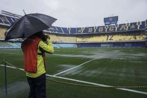 El Boca-River de final de Libertadores se posterga. Foto: AFP