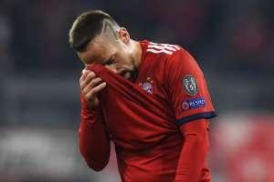 Ribery golpeó al periodista luego de la derrota ante el Borussia Dortmund. Foto: AFP