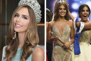 Miss España y Miss Colombia