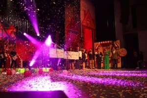 GUAYAQUIL, Ecuador.- El evento de recaudación se llevó a cabo en el teatro Centro de Arte.