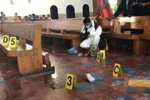 Sacerdote atacado con ácido por mujer en Nicaragua. Foto: La Prensa Nicaragua