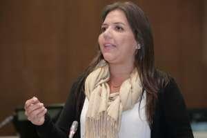 La vicepresidenta Vicuña, indagada por cobros indebidos de dinero, renunció este martes.