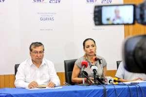 QUITO, Ecuador.- CNE informará a las 21h00 del 25 de diciembre el número definitivo de los postulantes. Foto: Diana Atamaint.