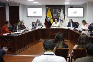 QUITO, Ecuador.- Este jueves, el CNE informará sobre la conformación de las Juntas Receptoras del Voto. Foto: Twitter