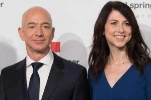 Se divorcia Jeff Bezos, el hombre más rico del mundo. Foto: AFP