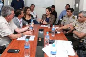 IBARRA, Ecuador.- Oficiales que lideraron operativo donde mataron a Diana R. serán trasladados a otra zona. Foto: Twitter