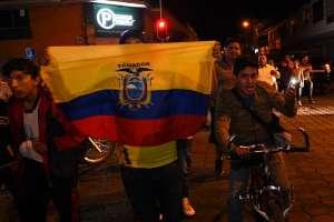 Canciller Valencia anuncia sanciones a quien tenga comportamientos xenófobos. Foto: AFP
