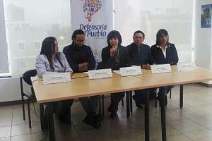 Gina Benavides, titular de la Defensoría del Pueblo. Foto: API