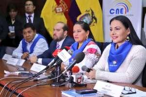 QUITO, Ecuador.- Desde el martes 5 de febrero inicia la campaña electoral que durará hasta el 21 de marzo. Foto: CNE.