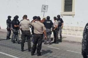 IBARRA, Ecuador.- Autoridades investigarán si el interno recibió ayuda para salir de su celda. Foto: Policía Nacional.