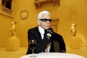 El diseñador alemán Karl Lagerfeld era director artístico de la empresa Chanel. Foto: AFP