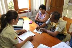 La institución señaló que el hombre se presentó voluntariamente. Foto: PNG