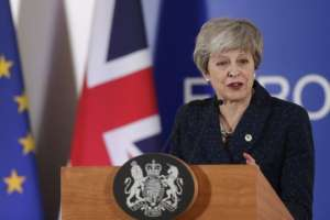 Theresa May consiguió una prórroga para el Brexit, pero no tan larga como había solicitado.