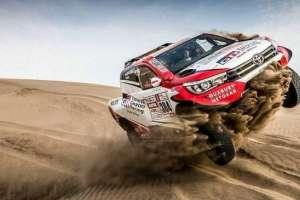 Carrera de la última edición del Dakar.
