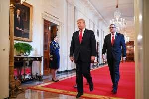 """Trump desestimó la investigación como un """"fraude"""". Foto: AFP"""