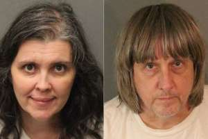 EE.UU.- Louise y David Turpin se habían declarado culpables el 22 de febrero de 14 delitos. Foto: Archivo