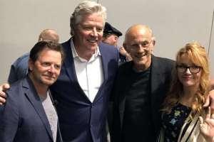 EE.UU.- Parte del elenco de la clásica saga tuvo un reencuentro que deja expectantes a sus seguidores. Foto: Redes
