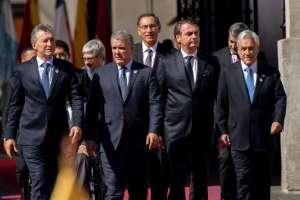 Chile inicia su retiro formal de la Unasur. Foto: AFP