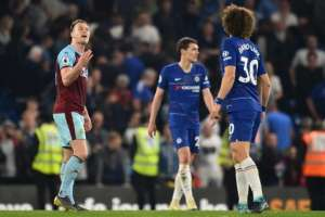 Los 'blues' igualaron 2-2 ante el Burnley en la Premier League. Foto: GLYN KIRK / AFP