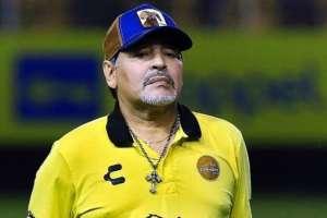 Diego Maradona, DT de Dorados.
