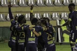 Los 'puros criollos' vencieron 2-0 en condición de visitante a Técnico Universitario. Foto: API