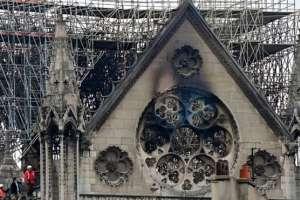 idea de que Francia podría restaurar Notre Dame en tan solo cinco años preocupa. Foto: LIONEL BONAVENTURE/GETTY IMAGES