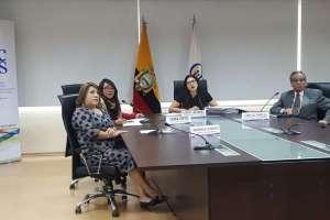QUITO, Ecuador.- Los comisionados a cargo del proceso renunciaron. Consejero asegura que proceso sigue. Foto: API