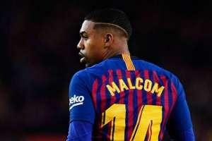 Malcolm, figura del FC Barcelona.
