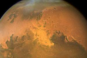Así se escucha el primer terremoto ocurrido en Marte. Foto: AP