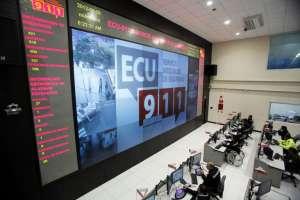 Ministra del Interior aseguró que el ECU911 no es utilizado para seguimientos a opositores. Foto: Archivo ECU911