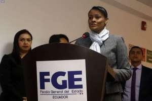 Diana Salazar pidió información económica de Glas y de exministros. Foto: API