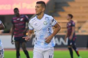 Michael Hoyos, delantero de Guayaquil City. Foto: Twitter.
