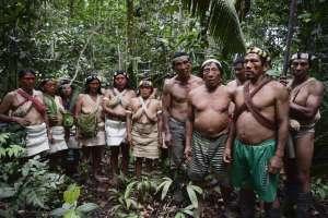 La lucha de los waorani contra las petroleras en la Amazonía. Foto: AFP