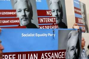 Fiscalía sueca pide a corte que detenga a Assange como sospechoso de violación. Foto: AP