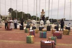 El cargamento de droga salió de Ecuador e iba rumbo a México. Foto referencial / Archivo