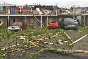Poderosas tormentas causan 30 tornados en EEUU. Foto: AP