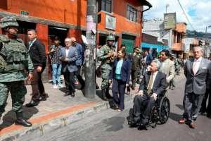 Previamente, mandatario evaluó acciones en reunión de Coordinación de Seguridad Ciudadana. Foto: Secom